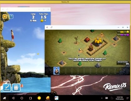 Remix os player emaludor para windows