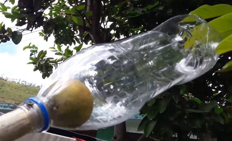 herramienta para bajar frutas