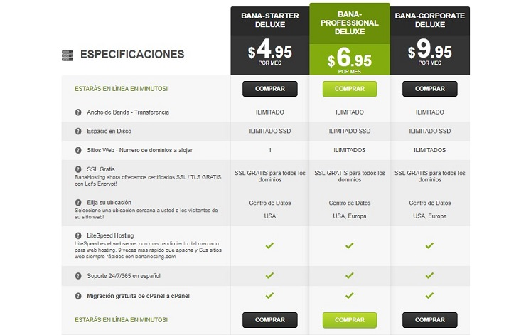 hosting y dominio barato ecuador