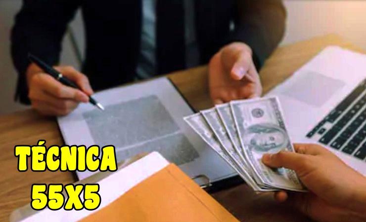 TÉCNICA 55x5 para Atraer Dinero y Abundancia