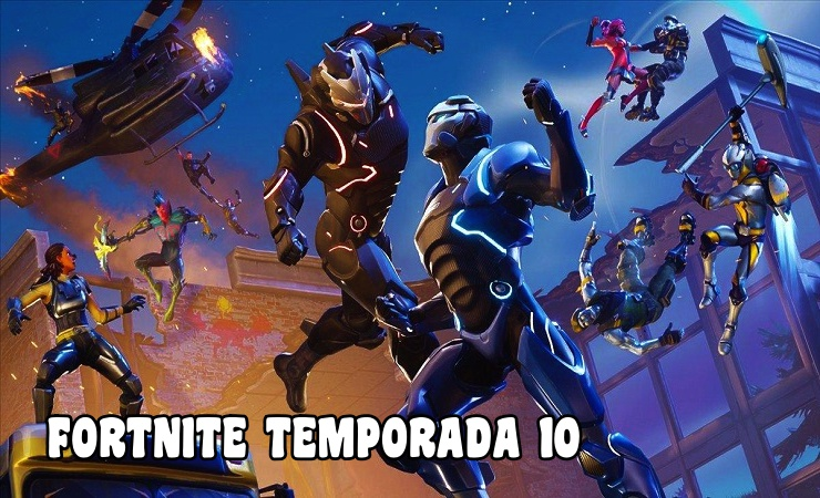 fortnite temporada 10 epic games