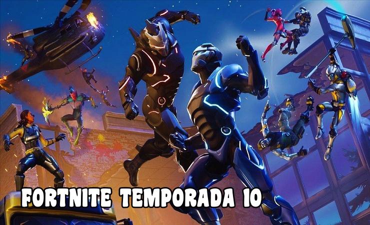 FORTNITE TEMPORADA 10 Sin Tiempo