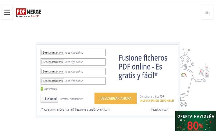 unir pdf gratis