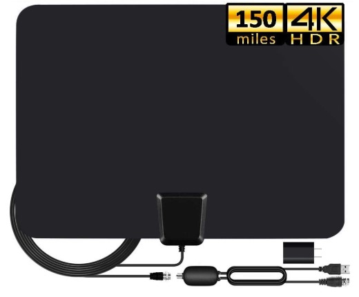 Antena de TV 2020 digital de interior, 4K HD