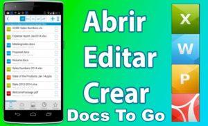 Aplicación para Abrir Archivos En Android