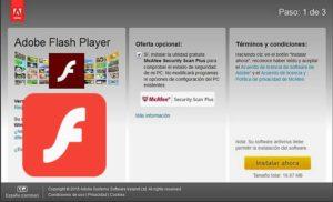 descargar adobe flash player gratis para windows