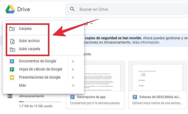 como crear un link de descarga directa