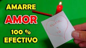 AMARRE DE AMOR Casero 100 % Efectivo