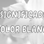 Qué Significa el Color BLANCO